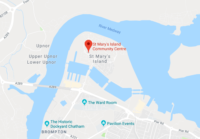 St-Marys-Island-Community-Centre-location-map
