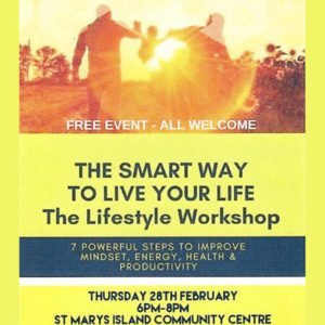 Free LifeStyle Workshop Feb19