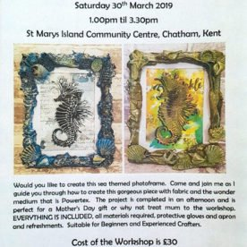 POWERTEX WORKSHOP – Sat 30th March '19